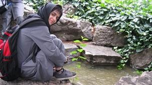 Une photographie non datée de Shadan Shirazi, extraite de l'un de la vingtaine de sites web en langue persane qui ont parlé de son exclusion de l'université malgré ses résultats exceptionnels à l'examen d'entrée national.