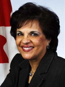 La sénatrice Mobina Jaffer. « Nous devons continuer à nous dresser et à faire face à la menace que représente l'Iran pour son propre peuple », a affirmé la sénatrice Jaffer au sénat canadien, le 1er décembre.