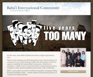 La campagne de la Communauté internationale bahá'íe lance un appel pour la libération des sept responsables bahá'ís emprisonnés en Iran.