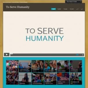 Une série de courts-métrages sur les thèmes relatifs au service à l'humanité est disponible pour être visionnée et téléchargée.