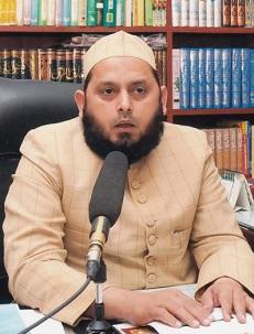 Maulana Khalid Rasheed Farangi Mahli, responsable du Centre Musulman de l'Inde