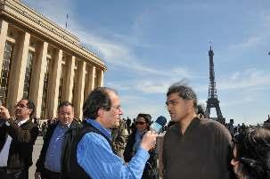 Arache Djannati-Atai, représentant France de United4Iran, a été interviewé par Ali Benham, journaliste pour la radio Fréquence 19.