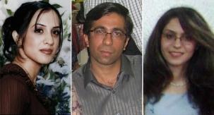 Haleh Rouhi, Sasan Taqva et Raha Sabet ont disparu en novembre 2007