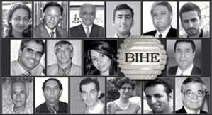 Les 16 bahá'ís initialement détenus après que les autorités iraniennes ont fait des descentes, en mai 2011, dans quelque 39 maisons ayant des liens avec le personnel et le corps enseignant de l'Institut bahá'í d'enseignement supérieur.