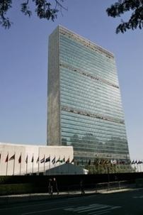 Le bâtiment du siège des Nations unies à New York. Photo ONU/Mark Garten