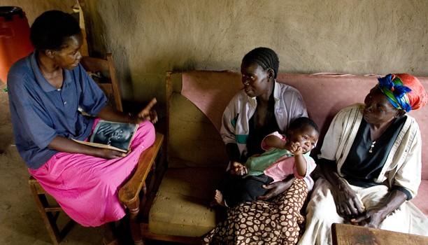 Un projet d'action sociale (Kenya)