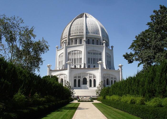 Maison d'adoration bahá'íe de Wilmette (États-Unis)