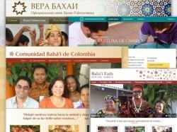 Des nouveaux sites web reflètent le dynamisme des communautés bahá'íes dans le monde entier