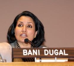 Bani Dugal, la principale représentante de la Communauté internationale bahá'íe auprès des Nations unies