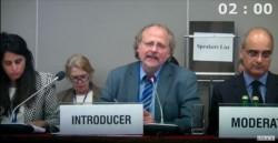 M. Heiner Bielefeldt, le rapporteur spécial des Nations unies sur la liberté de religion ou de conviction