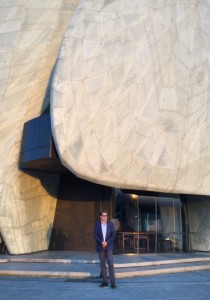 Siamak Hariri, l'architecte du temple du Chili