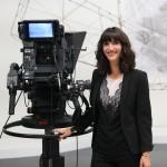 Aline Bachofner, journaliste présentatrice de l'émission Faut pas croire, magazine de société, éthique et religions