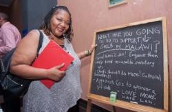 Mercy's Blessing a été projeté dans des pays du monde entier dans le cadre d'ateliers explorant la transformation sociale, y compris lors de projections au Malawi (photo ci-dessus) où le film a lieu.