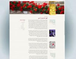 Capture d'écran de Bahaisofiran.org, le site officiel de la communauté bahá'íe en Iran, lancé le 15 février.