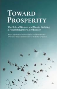 La communauté internationale bahá'íe a publié une nouvelle déclaration sur la promotion de la femme et la relation vitale entre l'égalité des sexes et la véritable prospérité.
