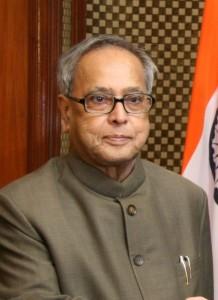 Son Excellence Pranab Mukherjee, président de l'Inde