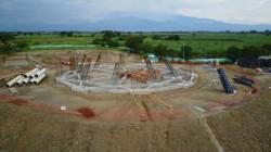 Le site de la future maison d'adoration locale dans le Norte del Cauca