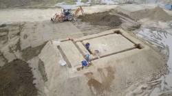 La construction du temple dans le Norte del Cauca a commencé début 2017.