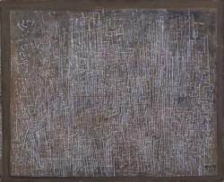 Mark Tobey Linee della citta, 1945, tempera sur papier 45.4 x 55.25 cm Addison Gallery of American Art, Phillips Academy, Andover, MA, Lascito Edward Wales Root, 1957.36