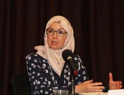 Ingrid Mattson est une responsable religieuse musulmane, professeur d'Études islamiques et militante interreligieuse. Elle s'est exprimée au cours de la récente conférence Our Whole Society (Toute notre société) à Ottawa, au Canada.