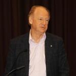 Le philosophe et écrivain John Ralston Saul était présent en tant que conférencier d'honneur lors de la récente conférence à Ottawa.
