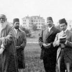 'Abdu'l-Bahá visite Green Acre en 1912. (Photo du site centenary.bahai.us)