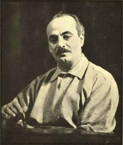 Khalil Gibran était un artiste et poète libano-américain, surtout connu pour son livre Le prophète, publié en 1923. Kahlil Gibran a vécu à Boston au début des années 1900 et il a été présenté à 'Abdu'l-Bahá par Juliet Thompson, une bahá'íe et une artiste comme lui.