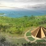 Le projet de la maison d'adoration locale à Tanna, Vanuatu