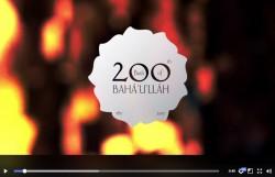 La communauté bahá'íe d'Irlande a créé une série de 95 clips vidéo sur la vie et les enseignements de Bahá'u'lláh, en publiant une chaque jour jusqu'au bicentenaire.