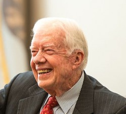 L'ancien président américain Jimmy Carter (photo de courtoisie de Wikimedia Commons)