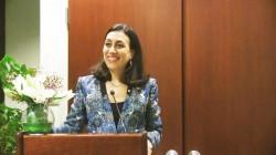 Laura Elena Flores Herrera, représentante permanente du Panama auprès des Nations unies, prend la parole à New York lors de la célébration de la CIB.