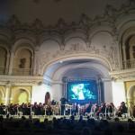 Une interprétation de l'orchestre philharmonique national en Azerbaïdjan en l'honneur du bicentenaire
