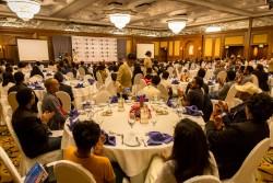 Cent cinquante invités se sont rassemblés à l'occasion du bicentenaire de la naissance de Bahá'u'lláh, organisé par le bureau de la CIB à Addis-Abeba et la communauté bahá'íe d'Éthiopie.