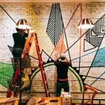 Les photos d'une peinture murale à Hoboken, New Jersey, sont parmi celles qui ont été ajoutées à la partie « Expressions artistiques » du site web du bicentenaire.