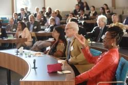 Des participants à la conférence de l'ASCL du 26 au 28 octobre à Washington, D.C.