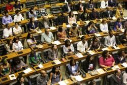 La Chambre des députés du Brésil, la Chambre basse du Congrès national, a organisé le 29 novembre un évènement spécial appelé séance solennelle en l'honneur du bicentenaire de la naissance de Bahá'u'lláh.