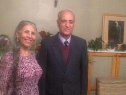 Behrooz Tavakkoli et Mahvash Sabet, tous les deux étaient membres du groupe des Yaran et ils ont tout récemment achevé leurs 10 années d'emprisonnement.
