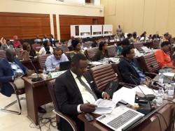 Des participants à la réunion des dirigeants africains pour aborder les droits et le bien-être de l'enfant.