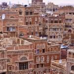 Vieille ville de Sanaa. Sanaa est la plus grande ville du Yémen. Crédit photo : Rod Waddington