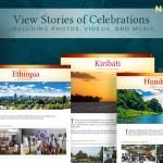 La nouvelle section du site du bicentenaire présente des témoignages provenant de pays et de territoires du monde entier.