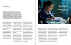 Un article dans « Pour l'amélioration du Monde » sur les fondements du développement économique et social d'inspiration bahá'íe.