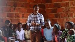 Les jeunes de Mwinilunga se concertant sur leur avenir