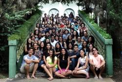 Les séminaires de l'ISGP pour les étudiants universitaires auront lieu cette année dans plus de 40 pays. Ces participants se sont réunis lors d'un séminaire au Brésil.