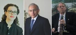(De gauche à droite) Maja Groff, Augusto Lopez-Claros et Arthur Dahl sont les auteurs d'une proposition primée visant à remodeler les structures de gouvernance mondiale.