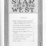 Couverture du deuxième volume de « Star of the West »