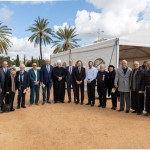 Des représentants de différentes communautés d'Acre ont assisté à une cérémonie marquant le début de la construction du mausolée de 'Abdu'l-Bahá.