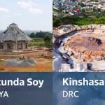 Les travaux sur les fondations du temple de Kinshasa progressent régulièrement tandis que les travaux au Kenya approchent de leur phase finale.