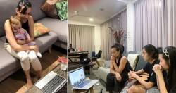 « La Fête des dix-neuf jours nous aide à rester connectés à quelque chose qui nous dépasse, mais elle a nécessité de la créativité pendant cette période », déclare Peta Yang, membre de la communauté bahá'íe de Singapour.