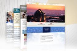 Le site web récemment remanié de la Communauté mondiale bahá'íe, www.bahai.org, a été lancé. Il s'agit du dernier d'une série de développements depuis la création du site en 1996.