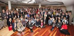 Les participants à la Convention nationale du Canada en 2017 afin d'élire l'Assemblée spirituelle nationale.